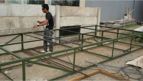 proses pembuatan billboard d33 advertising